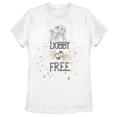 Women's Harry Potter Dobby is Free T-Shirt