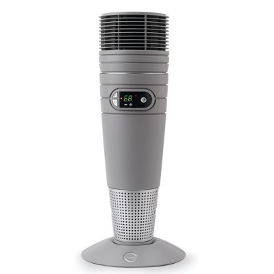 Lasko 6462 Full Circle Warmth Portable Electric 1500 Watt Oscillating Ceramic Tower Heater with Remote and Adjustable Thermostat