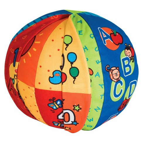 Melissa & Doug K's Kids 2-in-1 Talking Ball Educational Toy - ABCs and Counting 1-10 - image 1 of 4