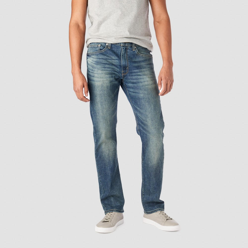 Denizen from Levi's Men's 232 Slim Straight Fit Jeans - Medium Wash 38x32, Blue