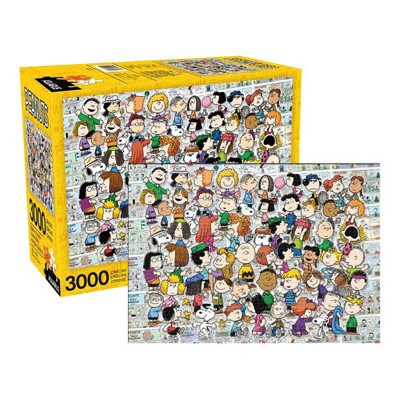 NMR Distribution Peanuts Cast 3000 Piece Jigsaw Puzzle
