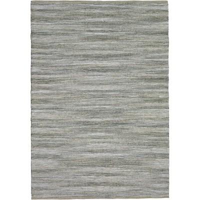 5'X7' Woven Area Rug Gray Natural - Threshold™