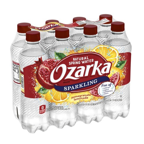 Ozarka Pomegranate Lemonade Sparkling Water - 8pk/16.9 fl oz Bottles - image 1 of 10