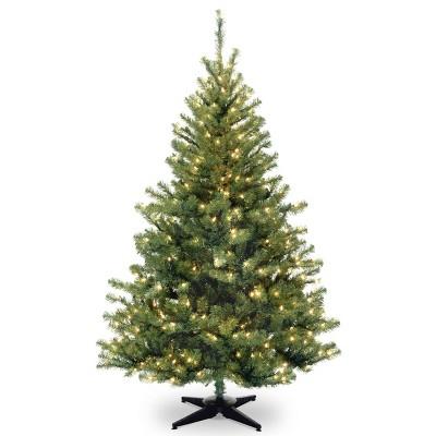 6ft National Christmas Tree Company Kincaid Spruce Artificial Christmas Tree Bulb Clear