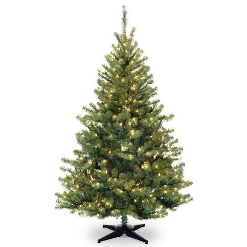 6ft National Christmas Tree Company Kincaid Spruce Artificial Christmas Tree Bulb Clear - image 1 of 3