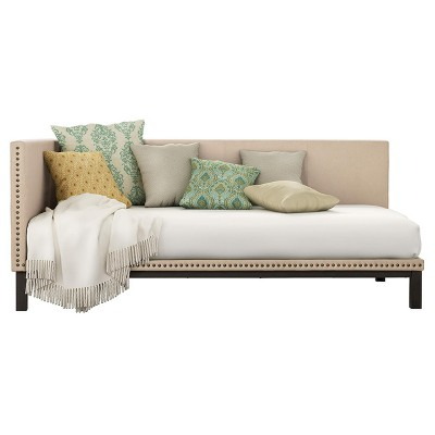 Mid Century Modern Upholstered Daybed - Room & Joy - Dorel Home Products