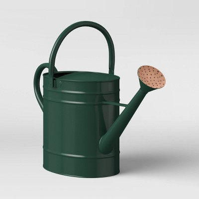 Large Steel Iron Watering Can Green - Smith & Hawken™