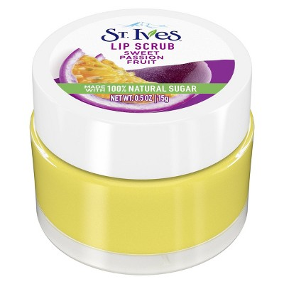 St. Ives Sweet Passionfruit Lip Scrub - 0.5oz