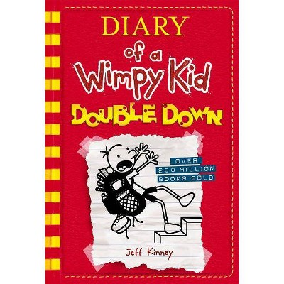 Wimpy Kid Double Down - by Jeff Kinney (Hardcover)