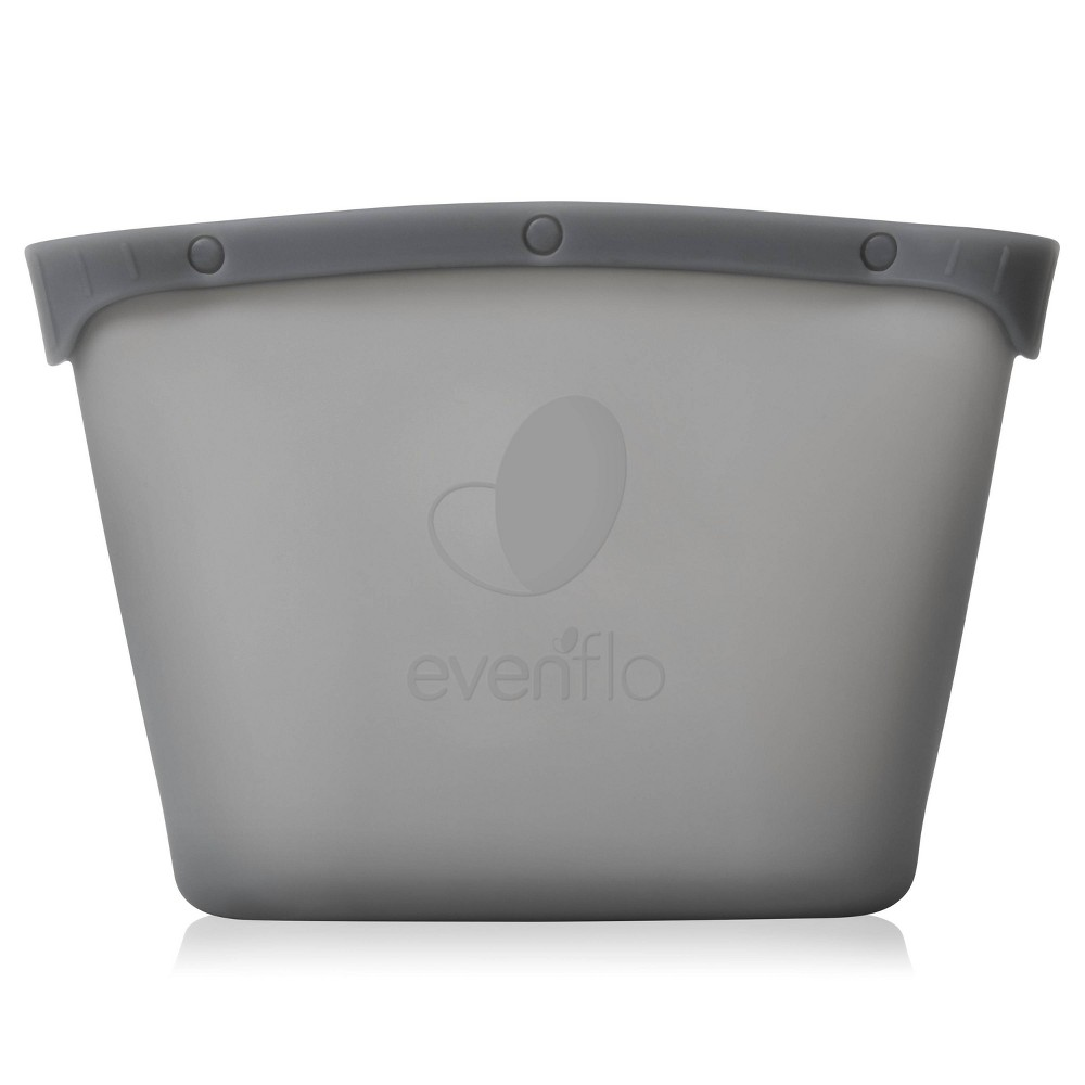 Image of Evenflo Silicone Reusable Sanitizer Microwave Steam Bags