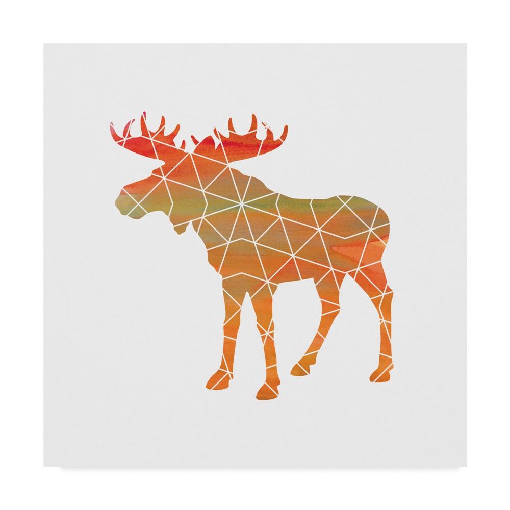 Erin Clark Moose Unframed Wall 18