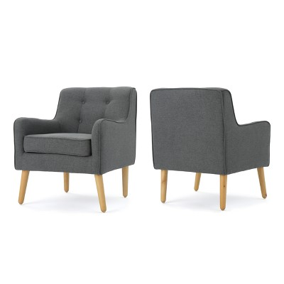 Set of 2 Felicity Mid-Century Armchairs - Christopher Knight Home