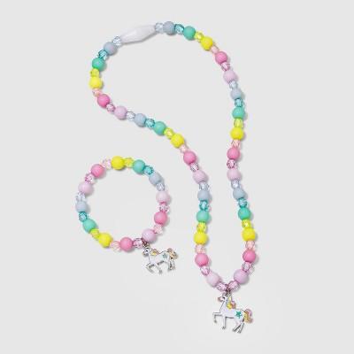 Toddler Girls' Unicorn Necklace and Bracelet Set - Cat & Jack™