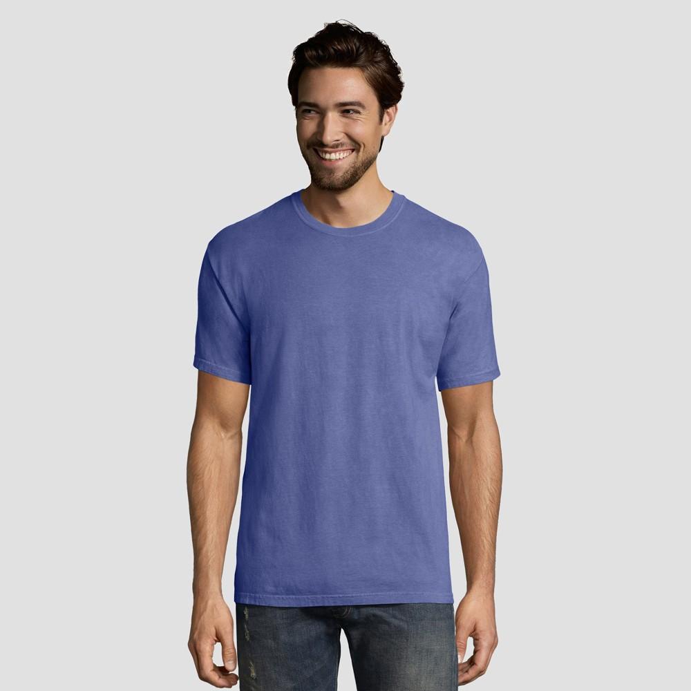 Hanes 1901 Men's Short Sleeve T-Shirt - Deep Blue 2XL