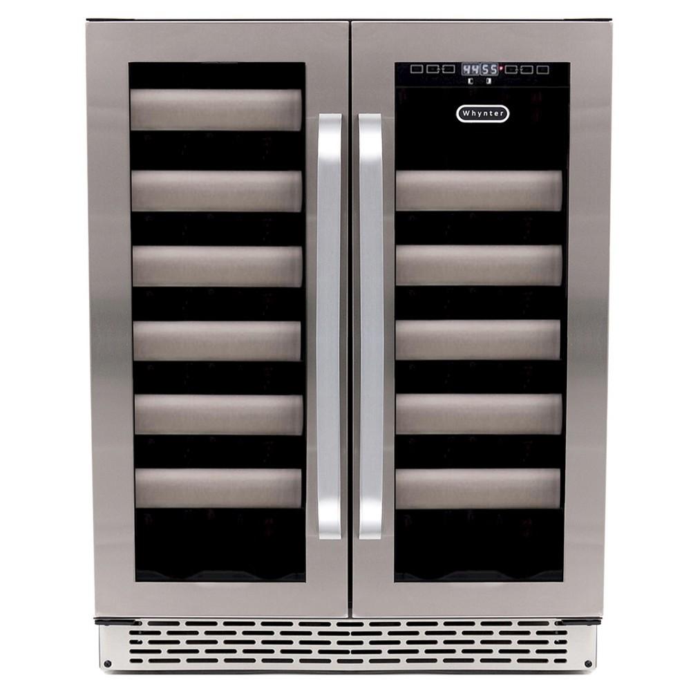 Whynter Wine Refrigerator Stainless Steel Bwr-401DS