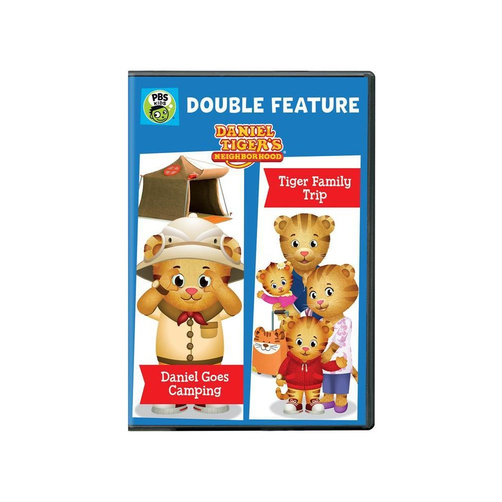 Daniel Tiger Double Feature: Daniel Goes Camping And Tiger Family Trip (Dvd)
