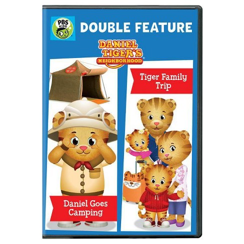 Daniel Tiger Double Feature: Daniel Goes Camping And Tiger Family Trip (DVD) - image 1 of 1