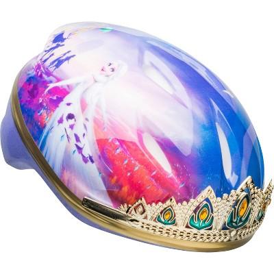 Frozen 2 Anna Tiara Child Bike Helmet