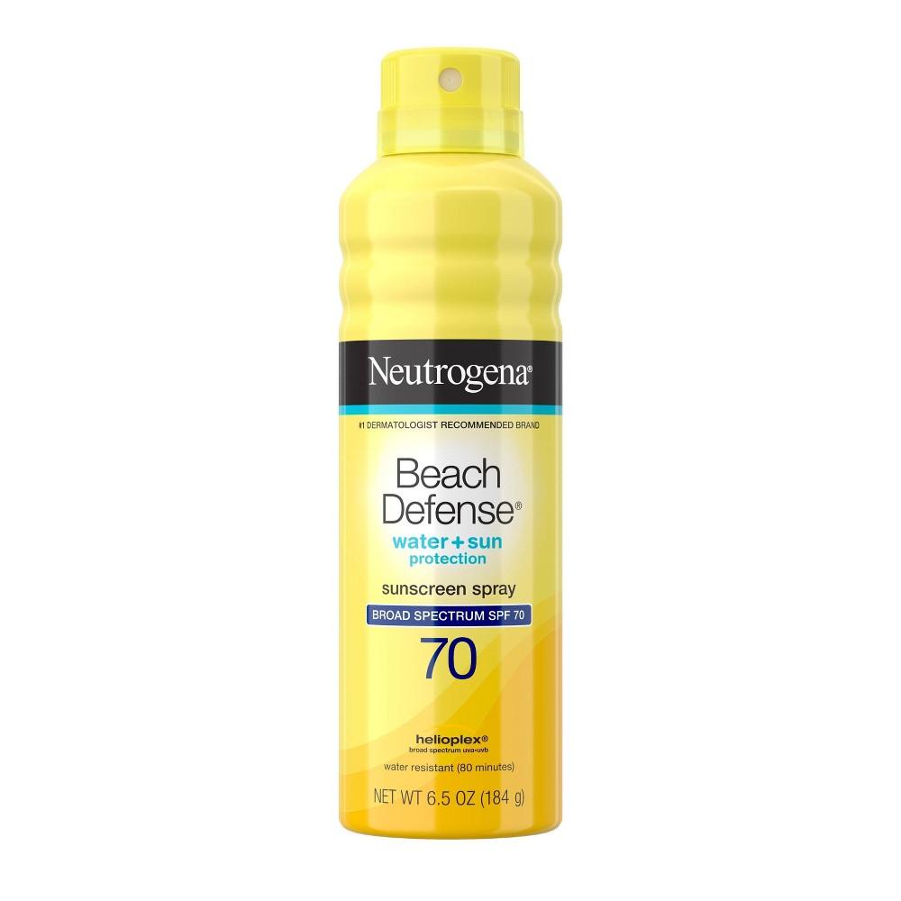 Image of Neutrogena Beach Defense Broad Spectrum Sunscreen Body Spray - SPF 70 - 6.7oz