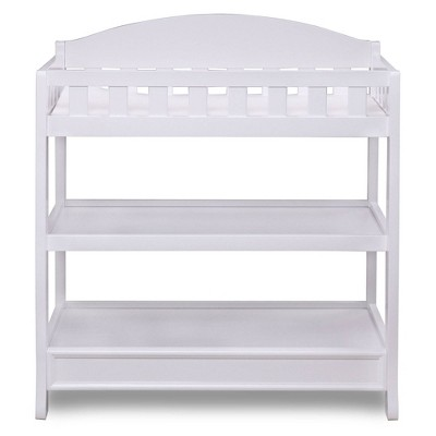 Delta Children Infant Changing Table with Pad - White