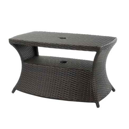 Berkeley Wicker Side Table - Christopher Knight Home - image 1 of 4