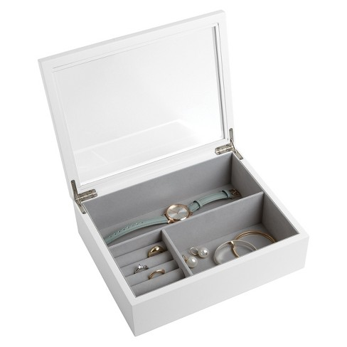 Olivia Jewelry Box White Loft By Umbra Target