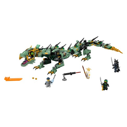 Lego Ninjago Movie Green Ninja Mech Dragon 70612 Ninja Toy With