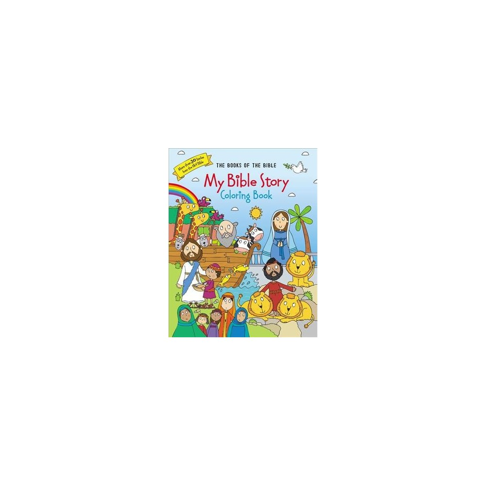 My Bible Story Coloring Book (Paperback)