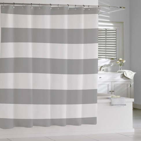 Stripe Shower Curtain Gray Cassadecor, Target Bathroom Shower Curtains