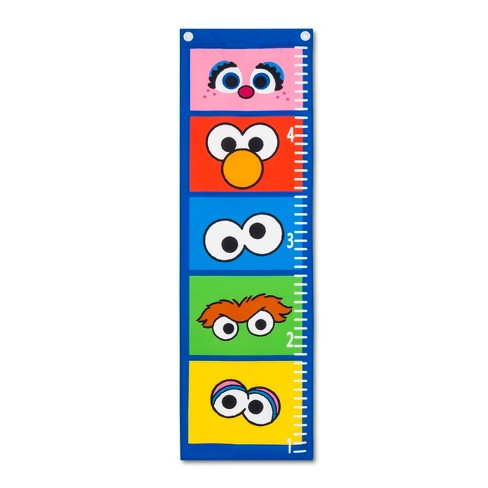 Sesame Street Growth Chart - image 1 of 1