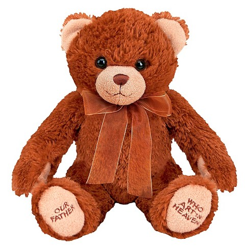 Melissa & Doug® Lord's Prayer Bear - Stuffed Animal With Sound Effects - image 1 of 2