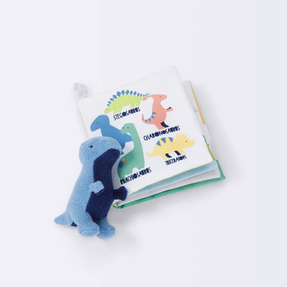 Baby Soft Book And Plush Cloud Island 8482 Dinosaur