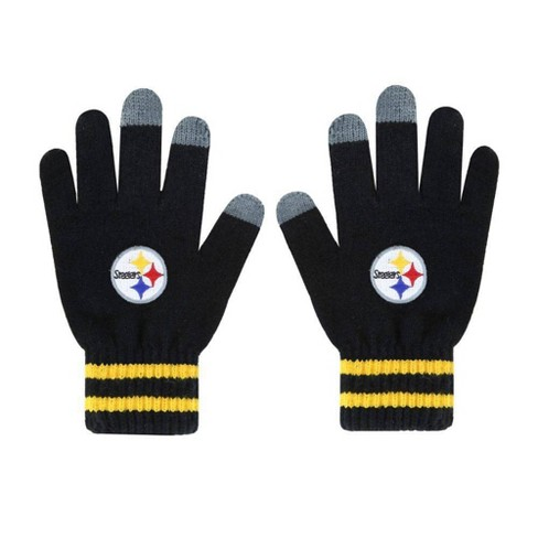 NFL Pittsburgh Steelers Embroidered Player Touch Gloves - image 1 of 1