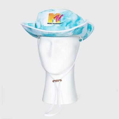 Men's MTV Tie-Dye Ocean Boonie Hat - One Size
