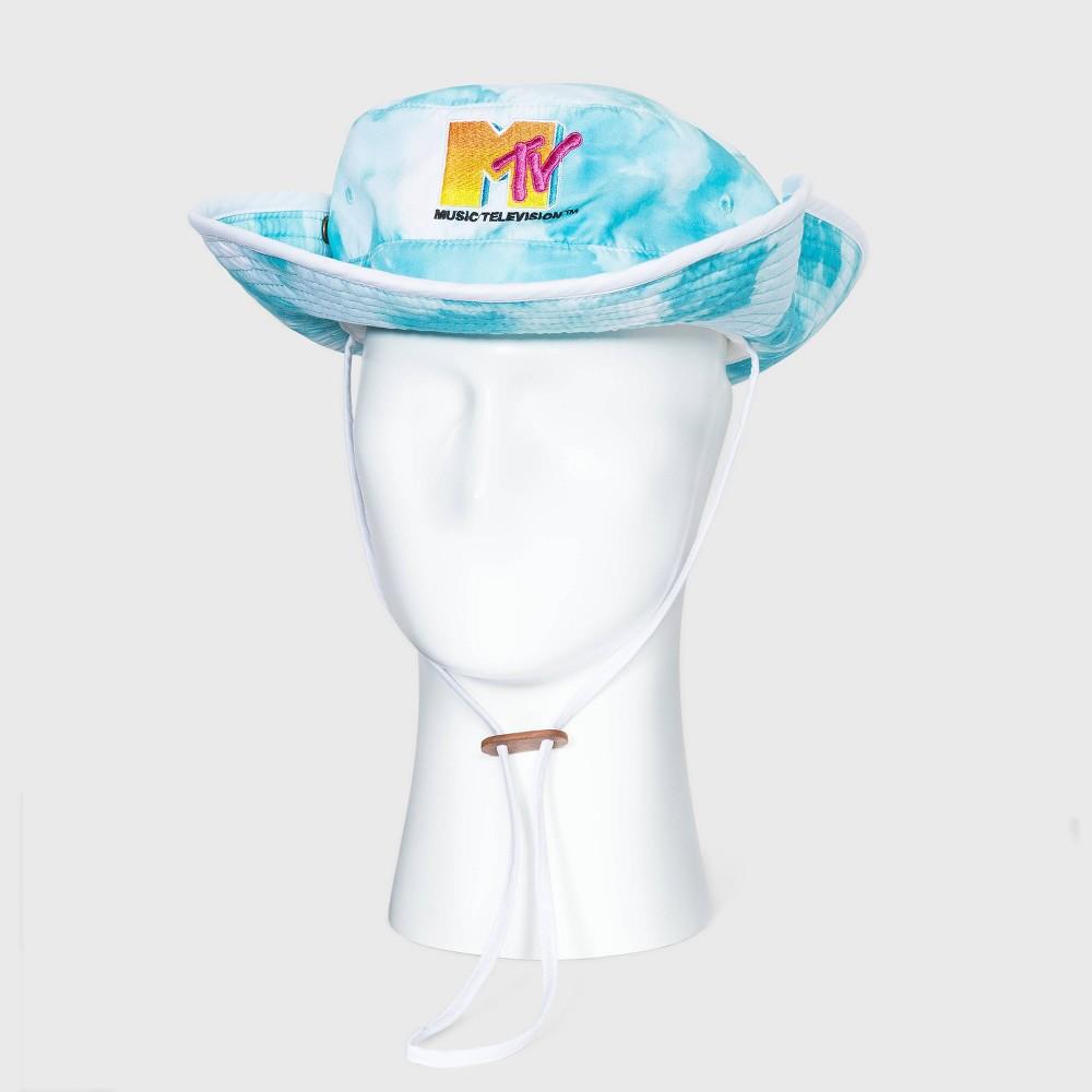 Men 39 S Mtv Tie Dye Ocean Baseball Cap One Size