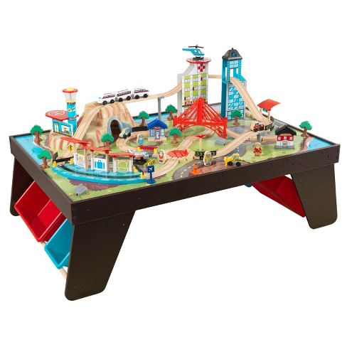 KidKraft Aero City Train Set and Table - image 1 of 5