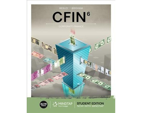 CFIN6 : Corporate Finance -  by Scott Besley & Eugene Brigham (Paperback) - image 1 of 1