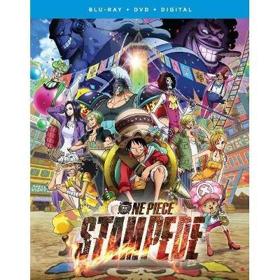 One Piece Stampede: The Movie (Blu-ray + DVD + Digital)(2020)