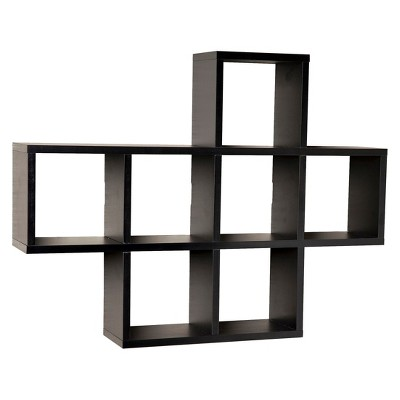 "31"" x 23"" Seven Decorative Cube Display Shelf - Danya B."