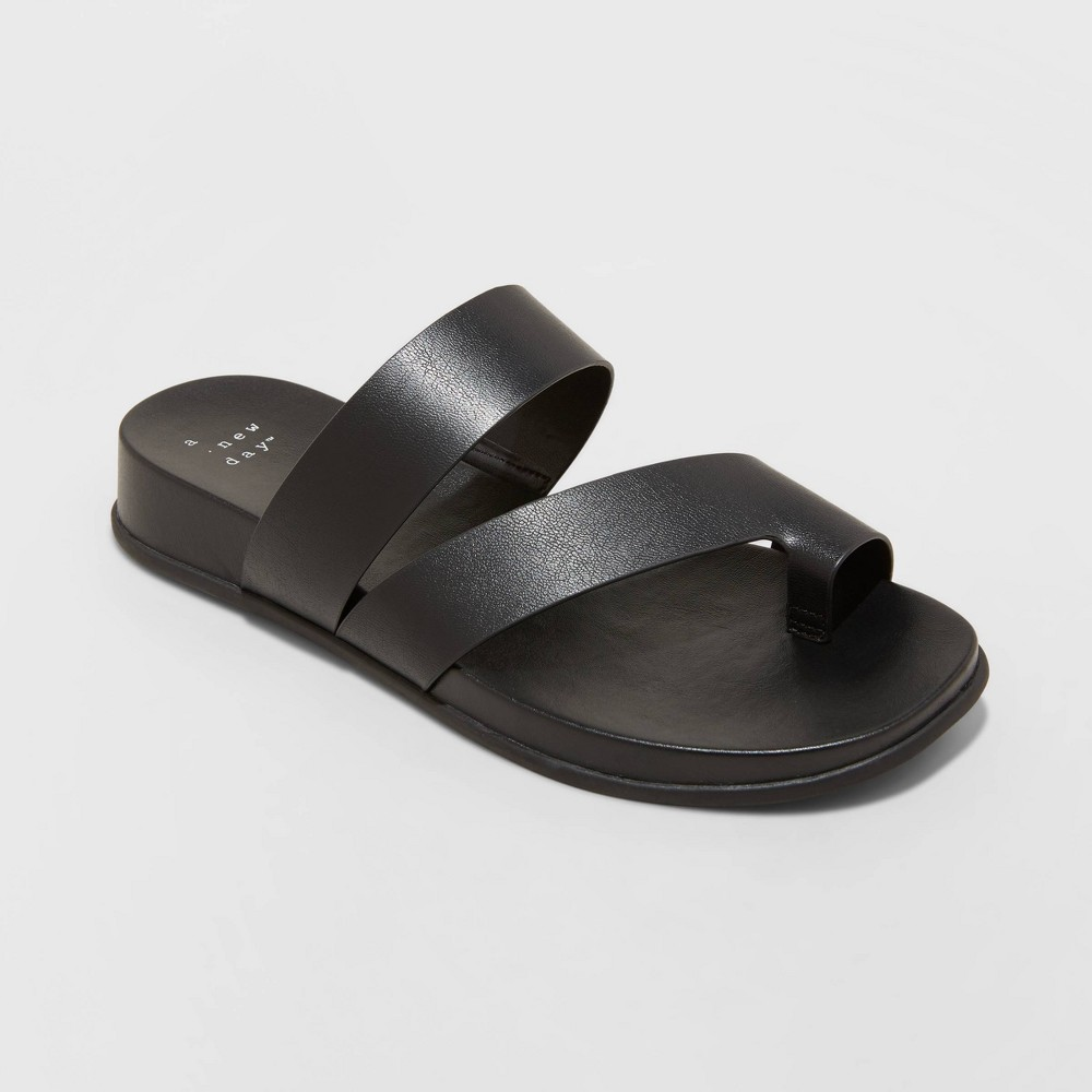 Women 39 S Joelle Toe Ring Sandals A New Day 8482 Black 11