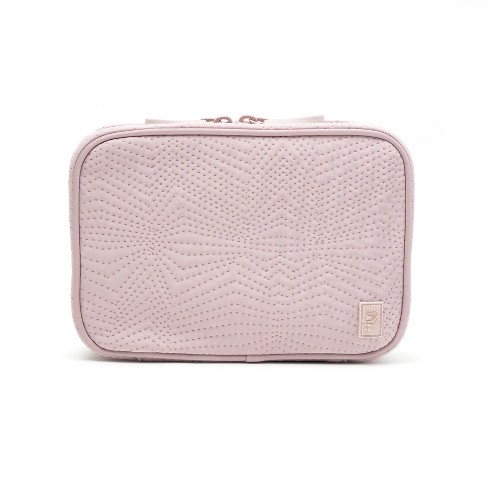 Porte Play Zip Case with Removable Pouch - Blush - image 1 of 4