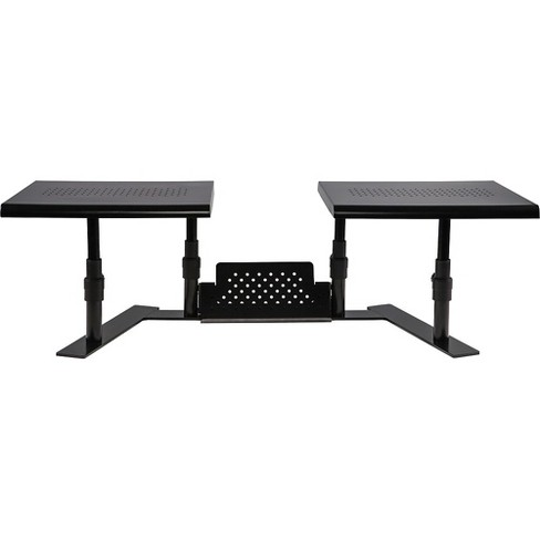 Staples Dual Monitor Adjustable Stand (51230) 2658099 - image 1 of 4