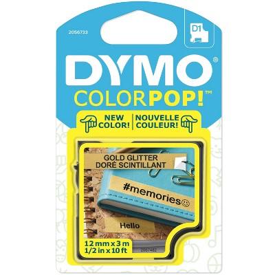DYMO ColorPop! Label Tape Cassette Gold Glitter