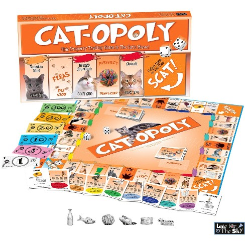 Cat Opoly Board Game Target