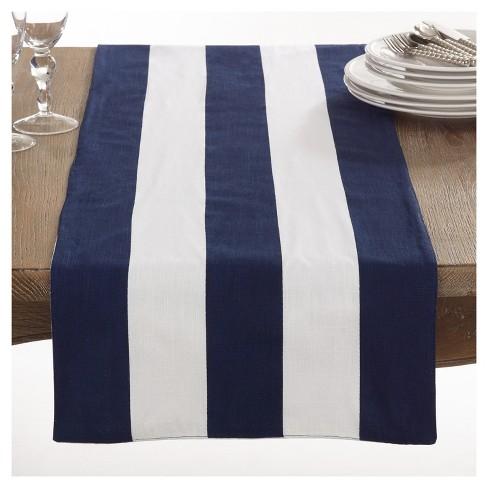 Saint John Striped Design Table Runner
