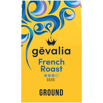 Gevalia French Roast Ground Dark Roast Coffee - 20oz