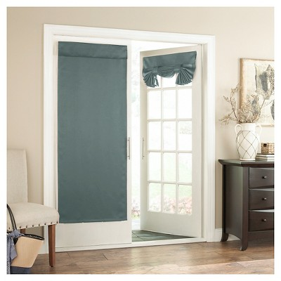 Curtain Panel River Blue (26 x68 )- Eclipse™