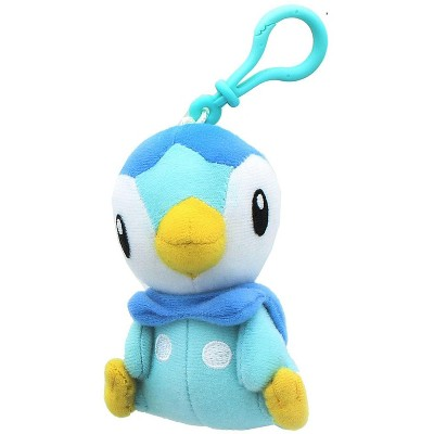 Tomy Pokemon 3 Inch Plush Clip On - Piplup