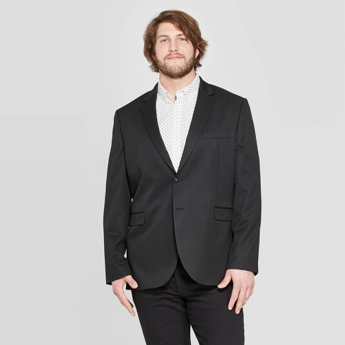 Men's Big & Tall Standard Fit Suit Jacket - Goodfellow & Co™ - image 1 of 3