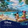 Ceaco Disney Thomas Kinkade: Mickey And Minnie Hawaii Jigsaw Puzzle - 750pc - image 3 of 3